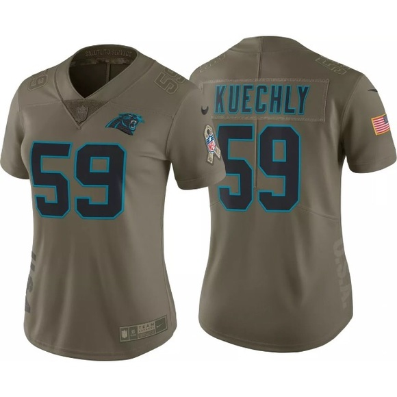 online store 32078 bd53f luke kuechly salute to service jersey